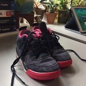 54407a8aae2812 Nike Air Jordan IV 4 Denim Retro 2Y Girls Kids